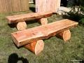 Larch Timber Seats