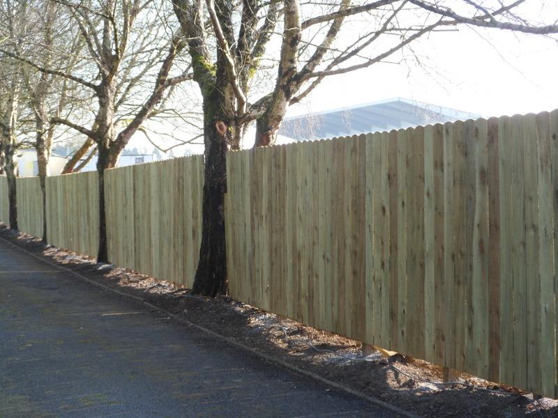 Roundtop Panel Fence