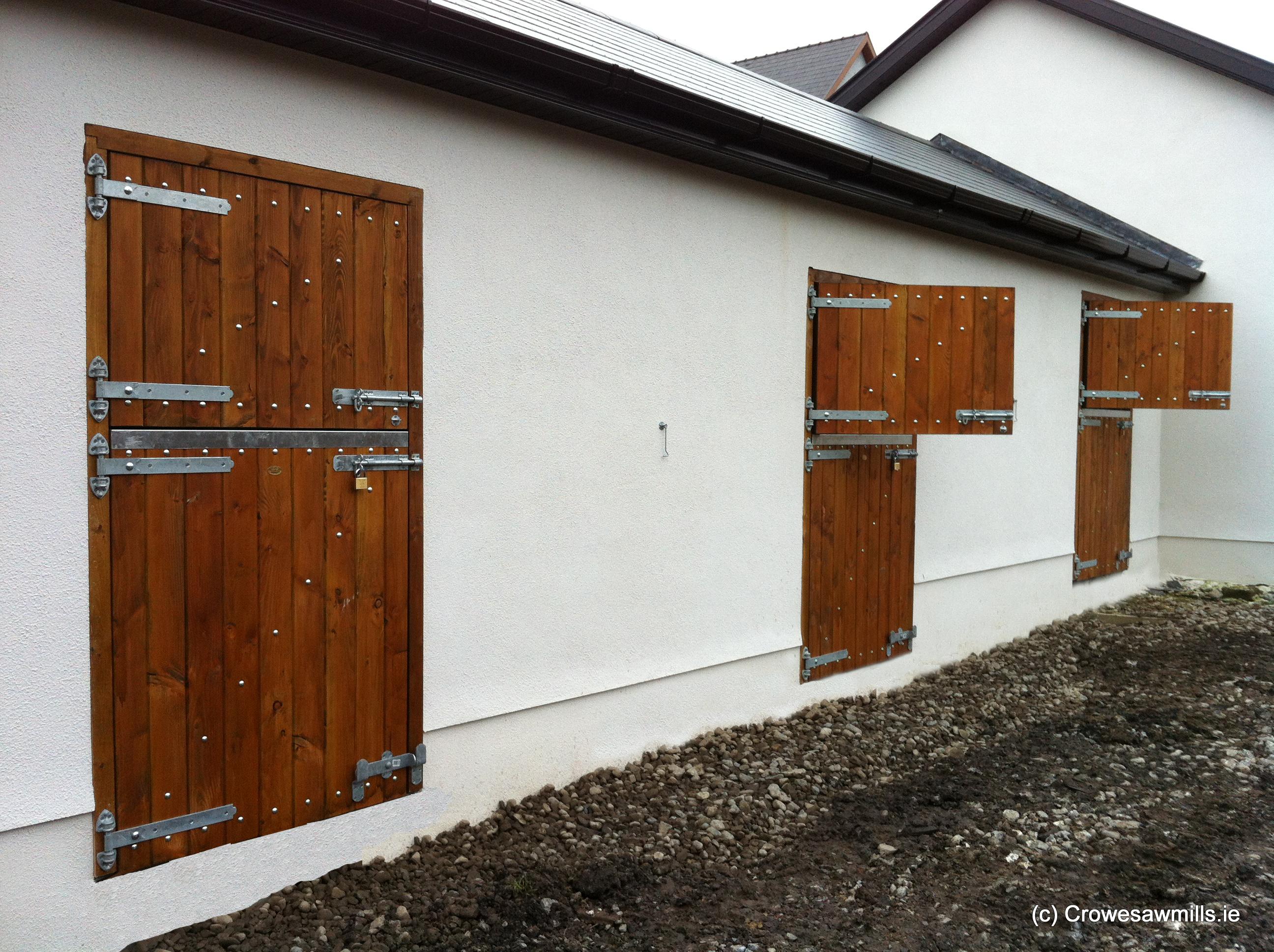 Douglas Fir Timber Stable Doors