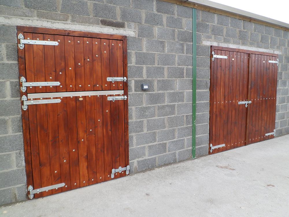 Douglas Fir Stable Doors