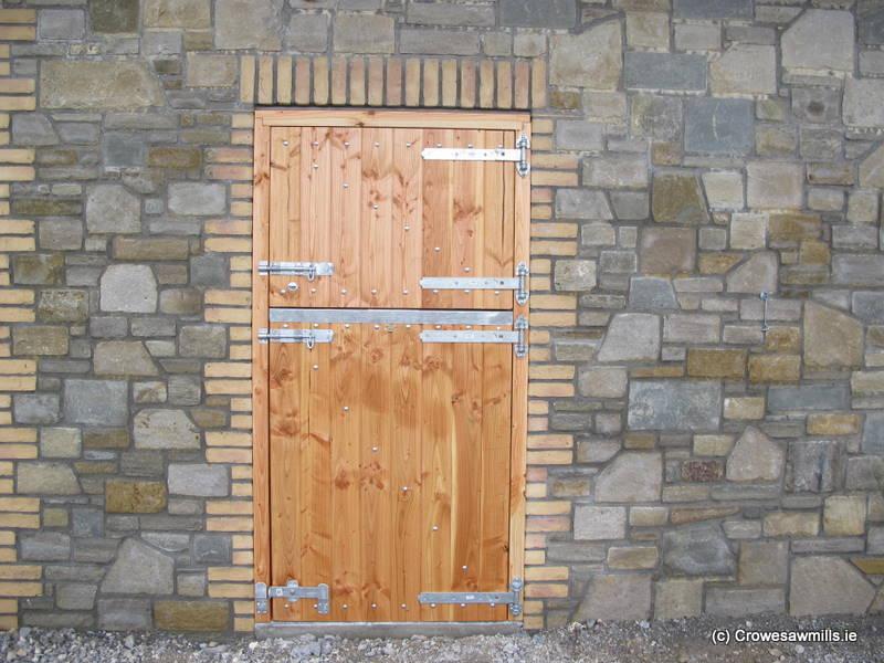 Douglas-Fir Timber  Stable Door