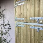 Stable Door using galvanised hinges & fittings