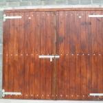 1 Set Douglas Fir Stable Doors