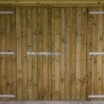 Double Timber Doors