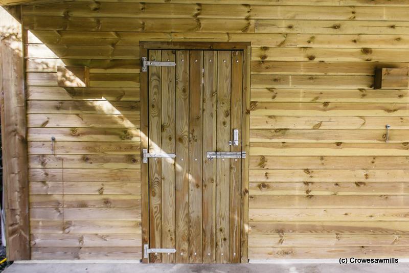 Single Timber Tackroom Door