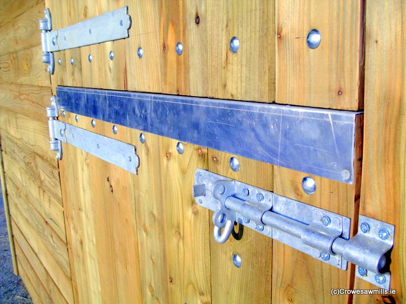 Galvanised Door Furniture