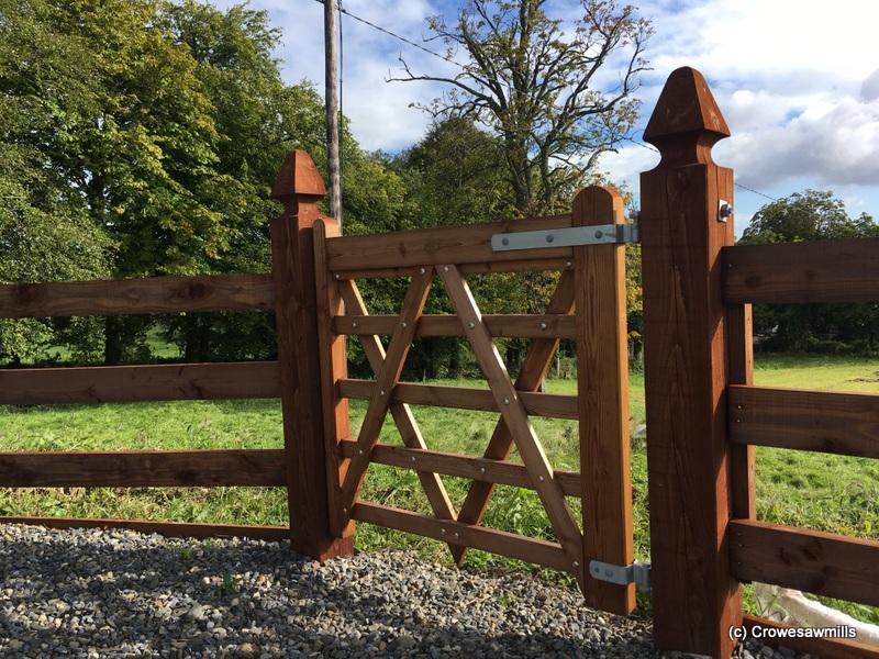 1.2m Paddock Gate