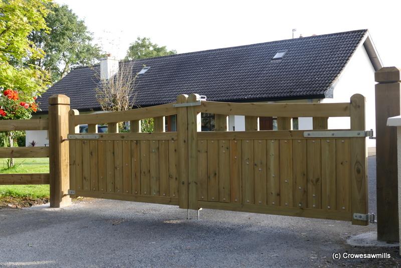 Kildare Timber Gates