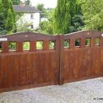 Keenaghan Entrance Timber Gates