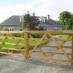 Traditional Paddock Timber Gate