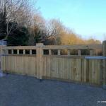 Adare Timber Entrance Gates