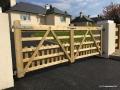 Paddock Picket Timber Gate