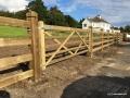 Timber Paddock Gate