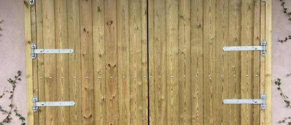 Horse double stable doors
